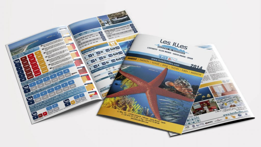 Price List for Les Illes Hotel & Diving Center