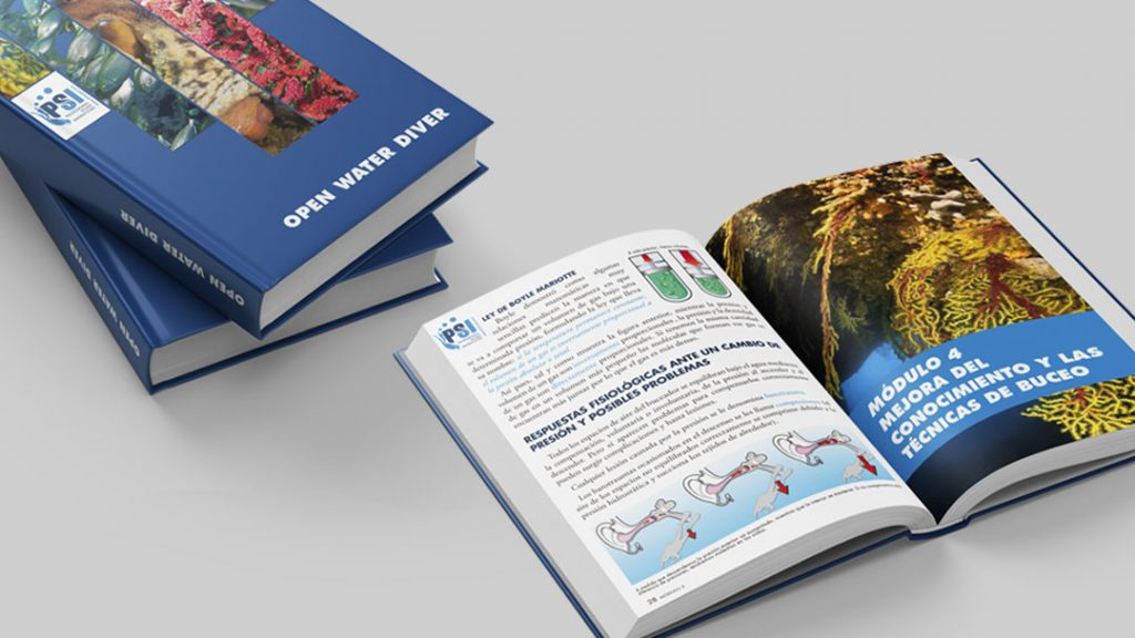 Open Water Diver Manual for PSI