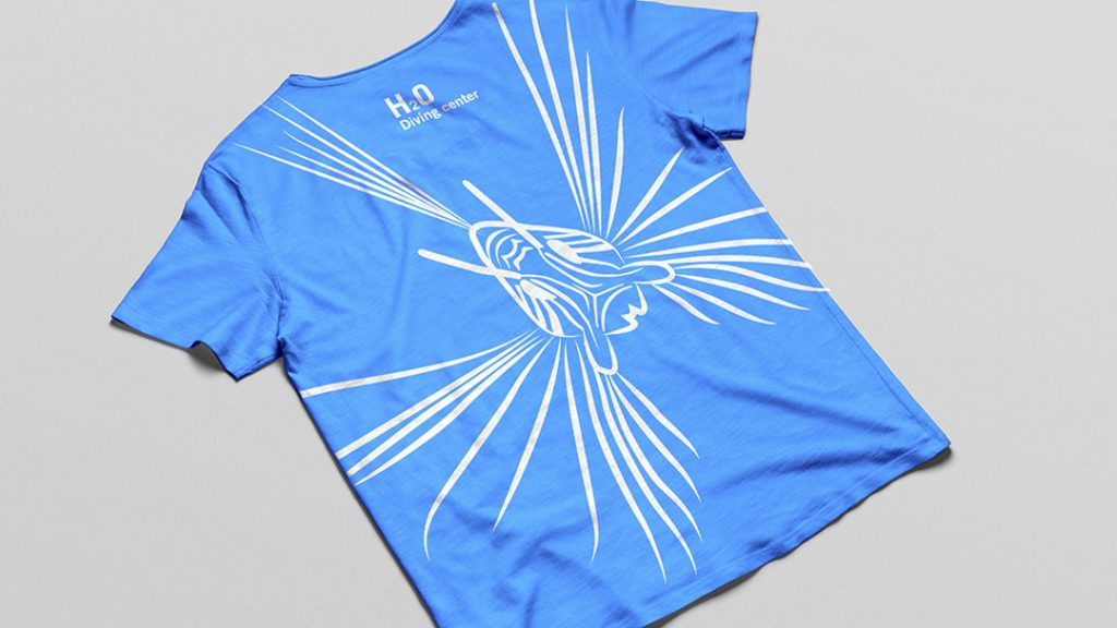 Special T-Shirt for Red Sea Trip for H2O Diving Center